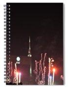 Nashville Fireworks 2014 Close Up Spiral Notebook