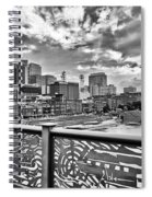 Nashville From The Shelby Bridge Spiral Notebook