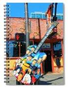Nashville Legends Guitar Spiral Notebook