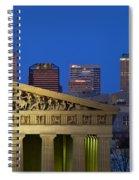 Nashville Parthenon Spiral Notebook