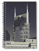 Nashville Tennessee Batman Building Spiral Notebook