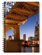 Nashville Tennessee Spiral Notebook
