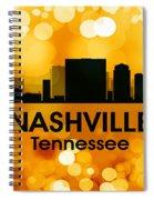 Nashville Tn 3 Spiral Notebook
