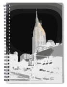 Nashville Touched In Color Spiral Notebook