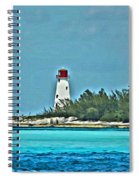 Nassau Bahama Lighthouse Spiral Notebook