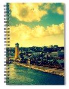 Nassau The Bahamas Spiral Notebook