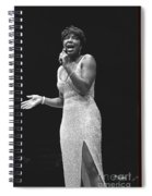 Natalie Cole Spiral Notebook