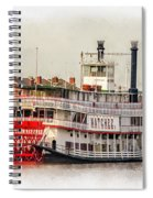 Natchez Sternwheeler Paint Spiral Notebook