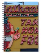 Nathan's Famous Spiral Notebook