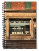 National Bank Of Thurmond Spiral Notebook