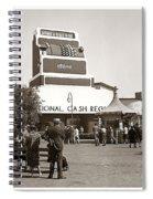 National Cash Register Spiral Notebook