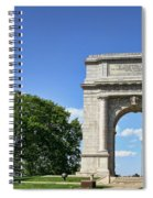 National Memorial Arch At Valley Forge Spiral Notebook