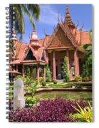 National Museum In Phnom Penh Spiral Notebook