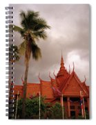 National Museum Of Cambodia Spiral Notebook