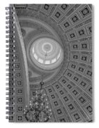 National Statuary Rotunda Bw Spiral Notebook