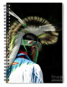 Native American Boy Spiral Notebook