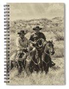 Native American Cowboys Spiral Notebook