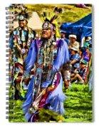 Native American Elder Spiral Notebook