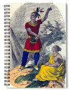 Native American Indian Chief Spiral Notebook