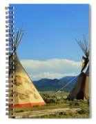 Native American Teepees  Spiral Notebook