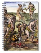 Native Americans: Disease Spiral Notebook