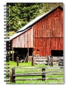 Native Land Spiral Notebook