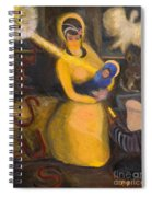 Nativity Spiral Notebook