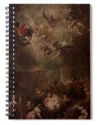 Nativity Of Mary Spiral Notebook