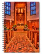 Nativity Of Our Lord Church Spiral Notebook