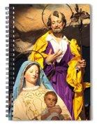 Christmas Nativity Scene Spiral Notebook