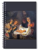 Nativity Scene Study Spiral Notebook