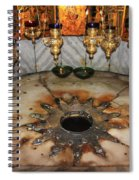 Nativity Star Spiral Notebook
