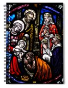 Nativity With Kings Spiral Notebook