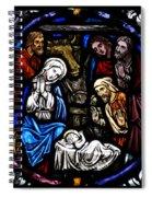 Nativity With Shepherds Spiral Notebook