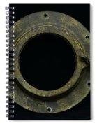 Natuical - Brass Porthole Spiral Notebook