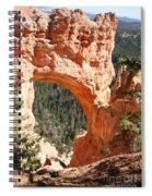 Natural Bridge  Bryce Canyon Spiral Notebook