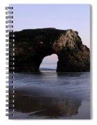Natural Bridges State Park California Spiral Notebook