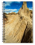 Natural Stone Pillar Spiral Notebook