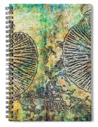 Nature Abstract 19 Spiral Notebook