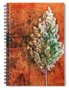 Nature Abstract 48 Spiral Notebook