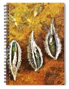 Nature Abstract 74 Spiral Notebook