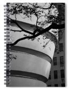 Nature And Architecture In Black And White Spiral Notebook