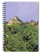 Nature And Medieval Ruins Spiral Notebook