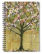 Nature Art Landscape - Lexicon Tree Spiral Notebook