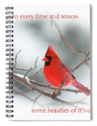 Nature Brings Spiral Notebook