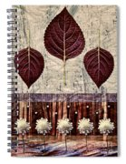 Nature Canvas - 01m4 Spiral Notebook