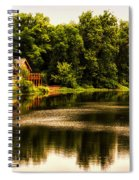 Nature Center Salt Creek In August Spiral Notebook