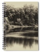 Nature Center Salt Creek In Heirloom Finish Spiral Notebook