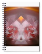 Nature In Abstract Camellia Spiral Notebook