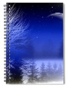Nature In Blue  Spiral Notebook